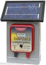 6 VOLT Parmak Solar Powered Electric Fence Charger DF-SP-LI 25 Mile Radius300541