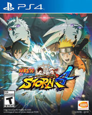 BRAND NEW SEALED Naruto Shippuden: Ultimate Ninja Storm 4 UN STORM 4 PS4 GAME
