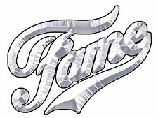 ✿✿✿ CHROME FAME IRON ON TRANSFER DANCE 80'S RETRO   ✿✿✿