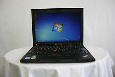 Laptop Lenovo Thinkpad X201 i5 4GB 320GB Windows 7 Cámara Web Nueva Batería Grado B