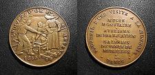 Médaille fondeurs d'or et d'argent 1830 Paris
