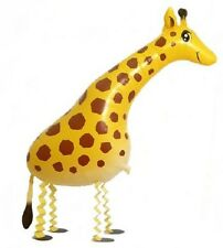 Walking Giraffe Balloon, Airwalker, Foil Ballon, Party balloon, great for kids!!