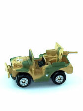 Micro Machines Auto Vehicle Military M37 Light Truck Fast Attack Tan Camoflauge