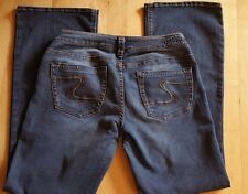 SILVER AIKO JEANS MEN'S MID BOOT CUT Size 30X 31 Free Ship