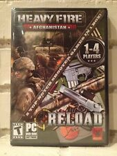afghanistan & reload --- 2 fighting battle computer games --- new