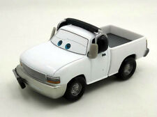 Disney Pixar Cars Brian Fee Clamp White Crew Chief Pick Up Truck 1/55 Diecast