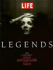 "BOOK ""LEGENDS – THE CENTURY'S MOST UNFORGETTABLE FACES"""