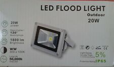 90V- 240v AC LED Outdoor Flood Light 20w