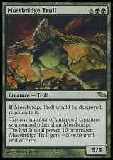 Troll del Ponte Muscoso - Mossbridge Troll MTG MAGIC SM Shadowmoor Ita