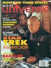SCI-FI UNIVERSE - INSURRECTION-PATRICK STEWART+MICHAEL DORN COVER+BRENT SPINER++