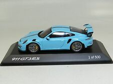 1:43 Spark Porsche 911 (991) GT3RS lightblue