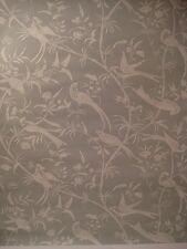 Vintage BRUNSWIG & FILS 1970's Wallpaper BIRDS