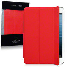 Red Smart Cover Gel Jelly Case Compatible for New iPad Mini