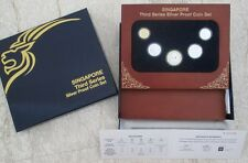 Singapore 3rd Series Silver Proof coin set
