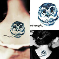 Fashion Unisex Temporary Tattoo Sticker Tattoo Gun Letters Fake Body Art Tatoo