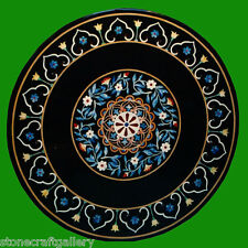 "24"" Decorative Coffee Table Top Marble Pietra dura​ Handmade Home Decor & Gifts"