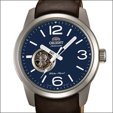 Orient Scout Open Heart 21-jewel Automatic Watch, 42mm Case, Blue Dial #DB0C004D