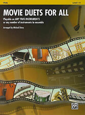 Movie Duets for All: Viola, Level 1-4 by Alfred Publishing Co., Inc....