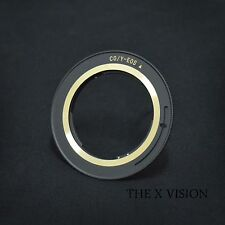 High Precision Contax Yashica CY Lens to Canon Eos EF adapter for 50D 60D 600D