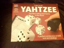 YAHTZEE DICE GAME MB GAMES with SCORESHEETS