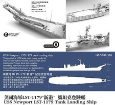ORANGE HOBBY N07-082 1/700 Resin Kit USS Newport class LST-1179 tank landing shi