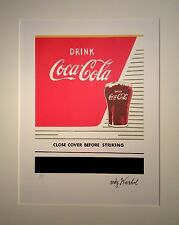 original signiert limitiert Andy Warhol Coka Cola POP ART Marilyn Monroe Coke