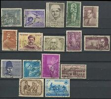 India Fine Used Complete Stamps Collection Of Year 1966