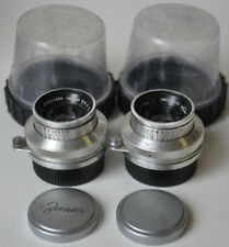 Industar -22 X2    3.5/50. SLR lens. Red,,P,, M39 mount. Very Good Condition.