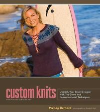 Custom Knits: Unleash Your Inner Designer with Top-Down and Improvisational Tech