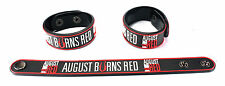 AUGUST BURNS RED NEW! Rubber Bracelet Wristband Free Shipping Empire aa251