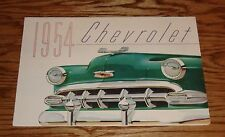 Original 1954 Chevrolet Color Foldout Sales Brochure 54 Chevy