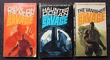 1970 DOC SAVAGE #50 51 52 VG to FN 1st/3rd/1st Bantam Paperback LOT of 3