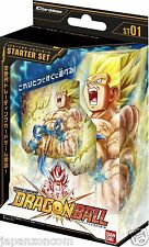 BANDAI DRAGONBALL TRADING CARD GAME IC STARTER SET CARDASS JAPANESE NEW JAPANZON