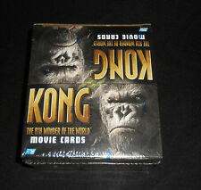 1991 Topps King Kong The Movie Cards Sealed Box 24 Packs Trading Cards