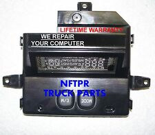 FORD EXCURSION 00 01 02 OVERHEAD CONSOLE COMPUTER REPAIR SERVICE we repair yours
