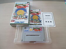 LEMMINGS II 2 THE TRIBES SFC SUPER FAMICOM JAPAN IMPORT COMPLETE IN BOX!
