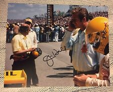 Jim Hall Signed 8 X 10 Photo Indy 500 Chaparral Cars Auto Racing Constructor
