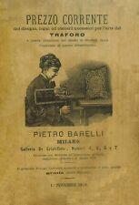 Traforo Fretwork - Catalogo Prezzo Corrente Pietro Barelli 1879  - DVD