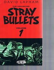 Stray Bullets Collected by David Lapham TPBs Vol #1 1st print & Vol 2 El Capitan