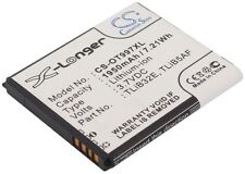 3.7 V Batteria per Alcatel One Touch Sapphire 2, cab32e0000c2, S710, One Touch 997