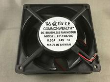 NONOISE F1238E24B FH 24VOLT DC  COMPUTER  INVERTER COOLING FAN 120X120 X38mm