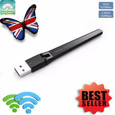 600 Mbps Dual Band 2.4ghz 5ghz USB WIFI Dongle ac600 ADATTATORE DI RETE WIRELESS