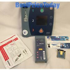 PHILIPS HEARTSTART FR2+ defibrilateur aed batterie carte pads electrodes enfant adulte plus