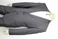 FLAWLESS CALVIN KLEIN SLIM FIT GRAY SUIT SIZE US 42 R  FLAT FRONT DUAL VENT