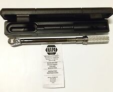 "NAPA 3/8"" Dr. Torque Wrench 10-100 Ft Lb 16.9 - 138.9 N m 4215"