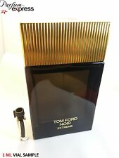 Tom Ford Noir Extreme Eau de Parfum for Him 1 ml Glass Vial sample