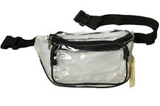 CLEAR FANNY PACK See Through Perfect Stadium Bag Purse Football Games Tailgating