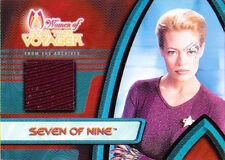 2001 Women of Star Trek Voyager - F1 COSTUME Seven of Nine Jeri Ryan
