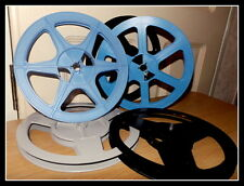 Super 8mm 400ft /120m Cine Film Spool / Reel - Derann - With FREE BOX & LABELS