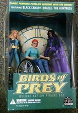 DC DIRECT BIRDS OF PREY DELUXE ACTION FIGURE SET BLACK CANARY, ORACLE, HUNTRESS